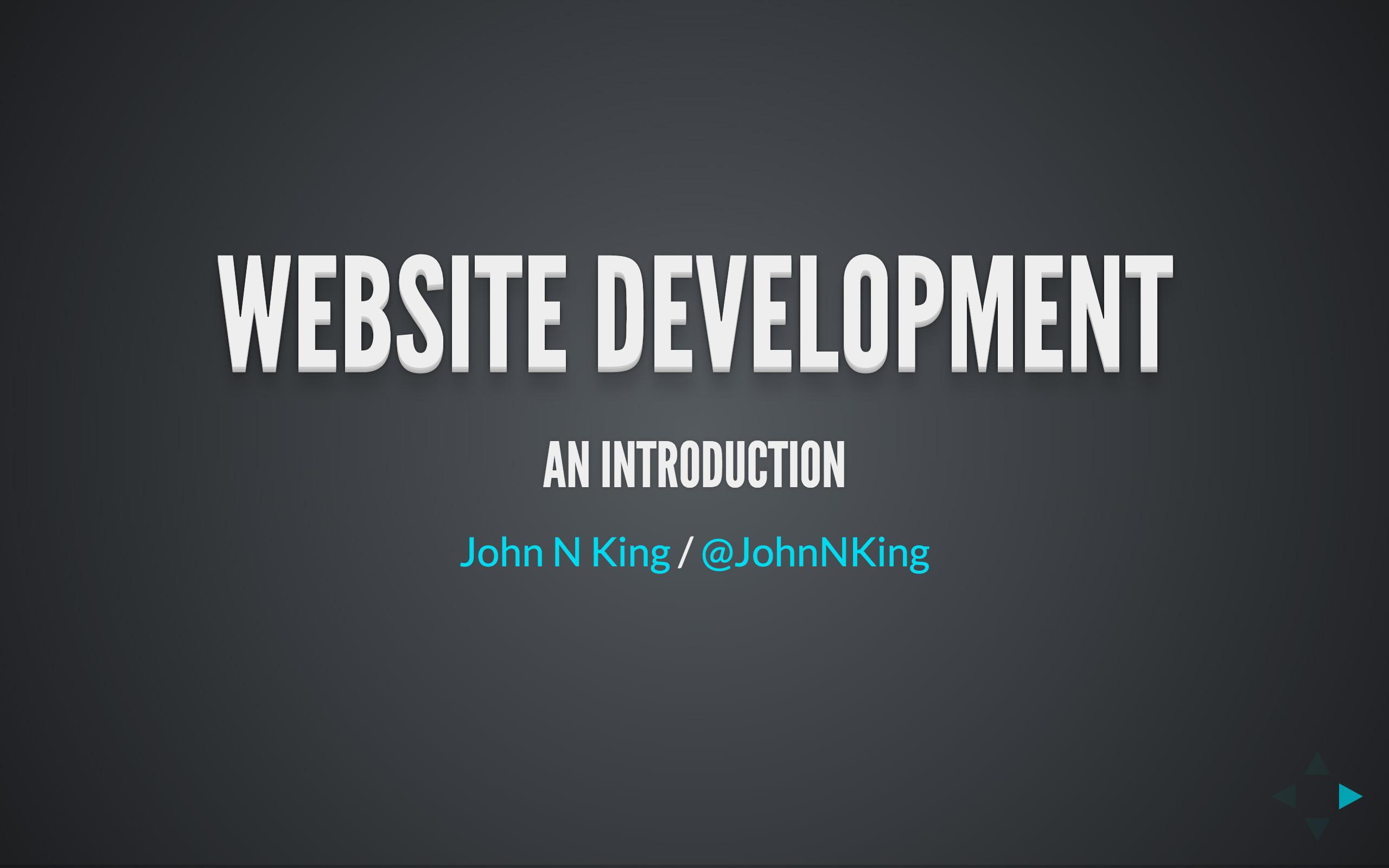 webdev slides